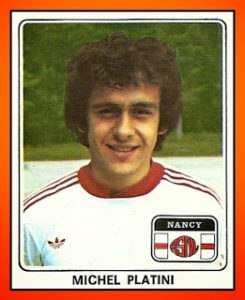 Michel PLATINI - Panini AS Nancy-Lorraine 1978